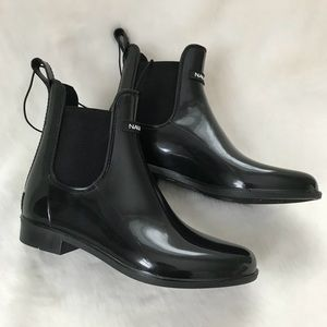 5202226608a4 Nautica Shoes - Nautica Shaya Black ankle rain boots rubber